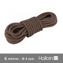 Cordon Brun Ø 4 mm
