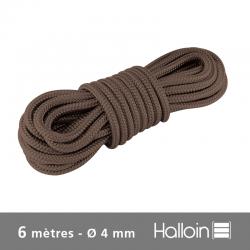 Cordon Brun Ø 4 mm